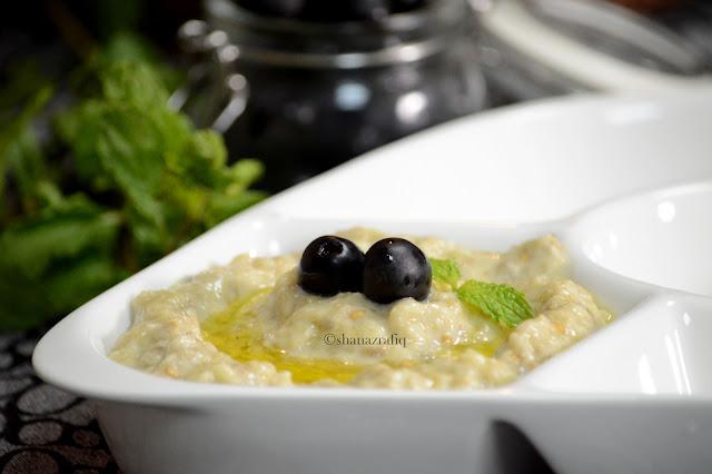 Mutabbal, Babaganoush, Arabic Dip, Eggplant Dip