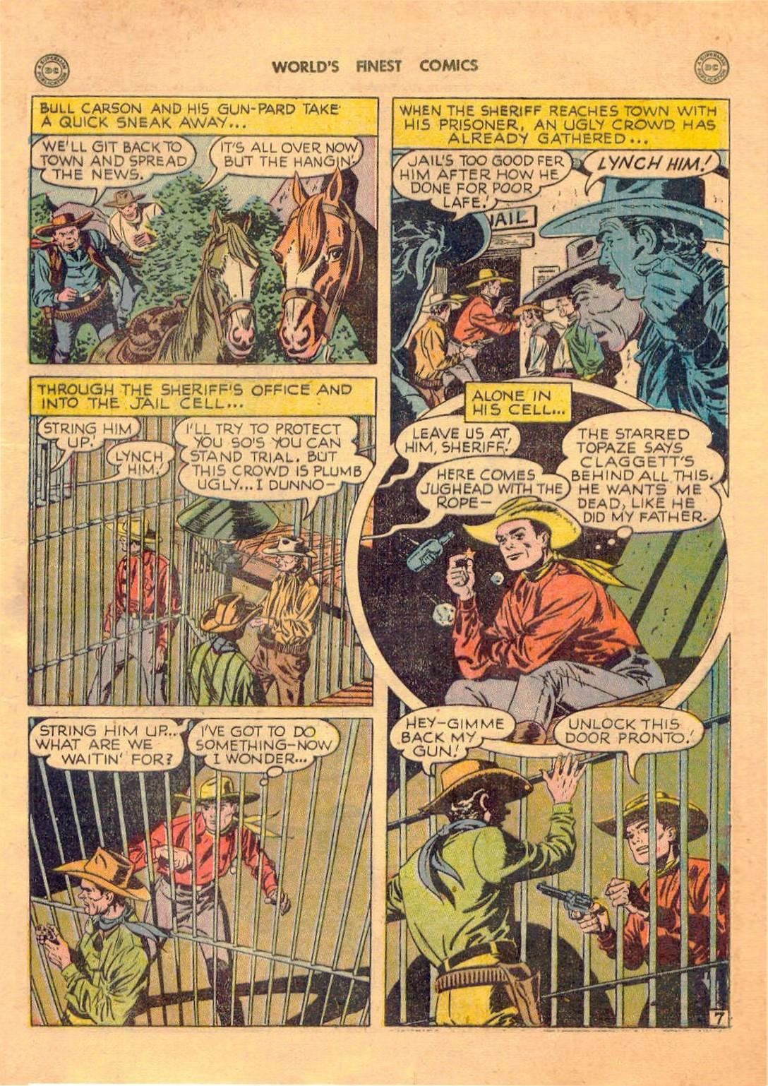 Read online World's Finest Comics comic -  Issue #42 - 43