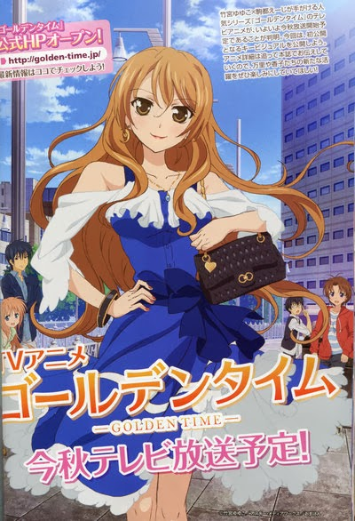 Anime Review Golden Time