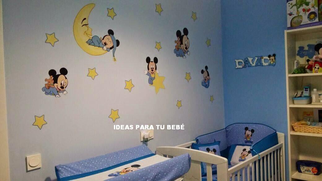 fe7a09efa elegant simple pegatinas mickey encargo davinia with habitacion mickey  mouse with decoracion para habitacion de bebes