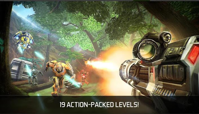 Game FPS Offline Android Ukuran Kecil Nova Legacy Mod Apk