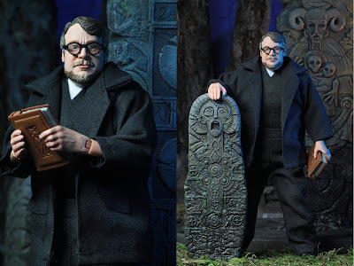 "San Diego Comic-Con 2018 Exclusive Guillermo del Toro 8"" Clothed Action Figure by NECA"