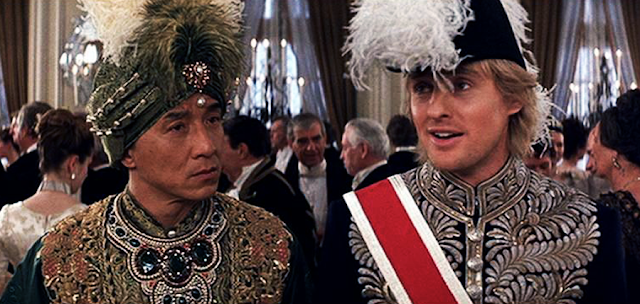 Roy O'Bannon şi Chon Wang în Shanghai Knights (2003)