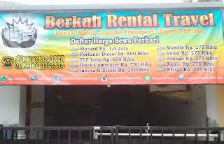 Sewa Mobil Surabaya Berkah Rental Travel
