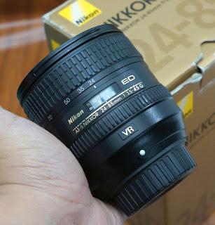 Jual Lensa Nikon AF-S 24-85mm VR
