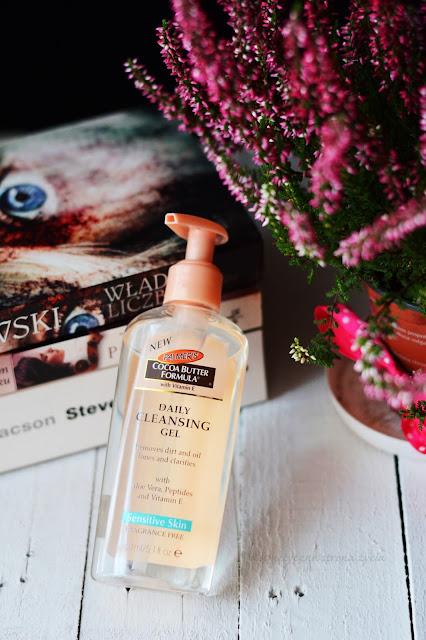 Palmers - oczyszczający żel do mycia twarzy