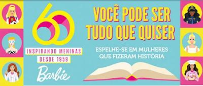 Barbie 60 anos - Blog Top da Promoção www.topdapromocao.com.br @topdapromocao #topdapromocao