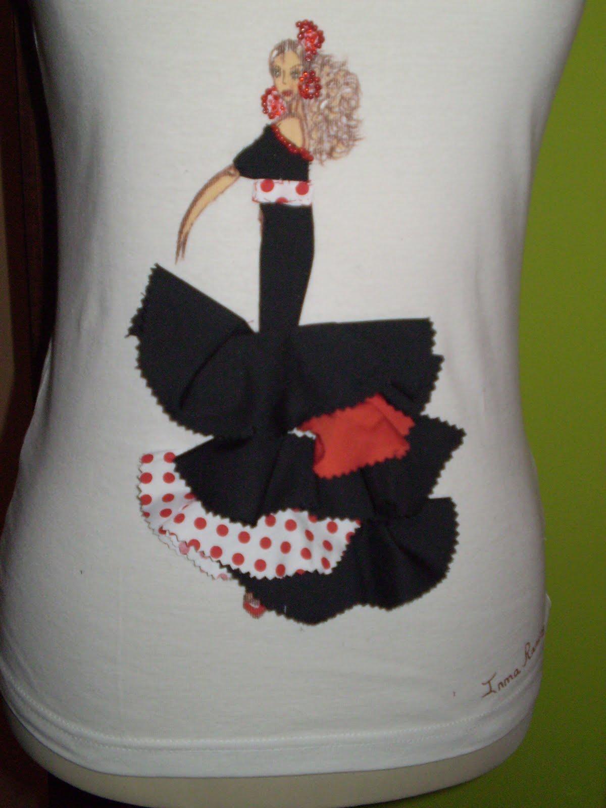 Camisetas Flamencas Inma Ramirez diseos camisetas flamencas