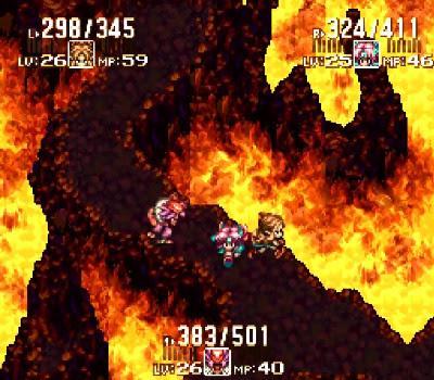 Seiken Densetsu 3 - Lenguas de fuego