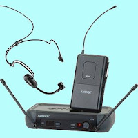 Setting Wireless Microphone Clip On