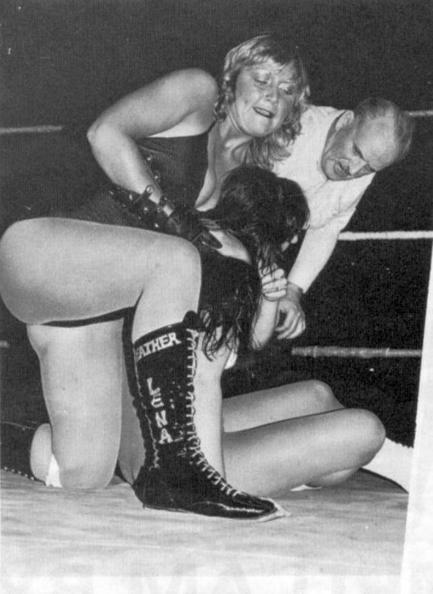 Leather Lena - British Women's Pro Wrestling