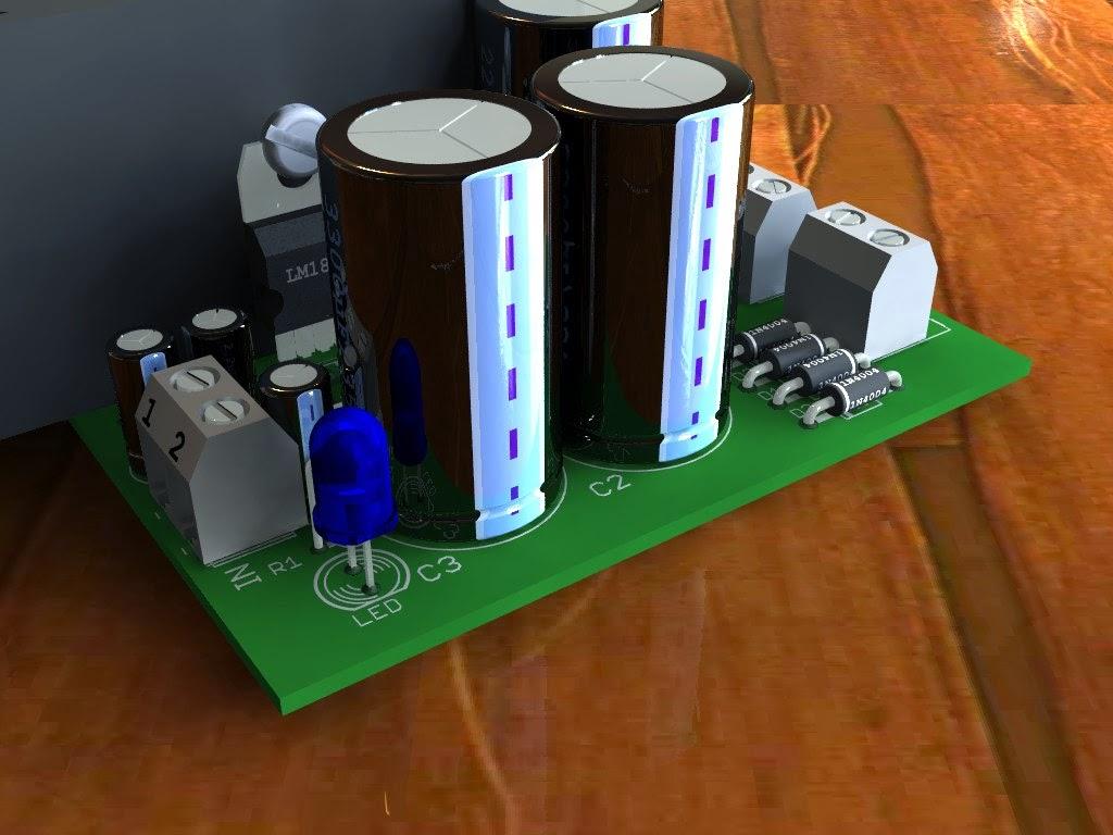 24w Amplifier Using Tda1516