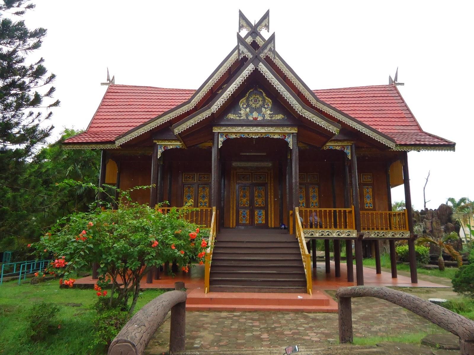 6 jambi rumah panggung rumah adat di indonesia