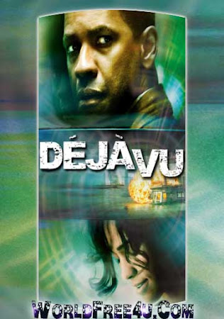 Poster Of Deja Vu In Dual Audio Hindi English 300MB Compressed Small Size Pc Movie Free Download Only At worldfree4u.com