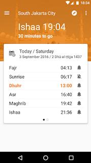 Aplikasi Jadwal Imsak Terbaik di HP Android Biar Sahur Kamu Gak Telat