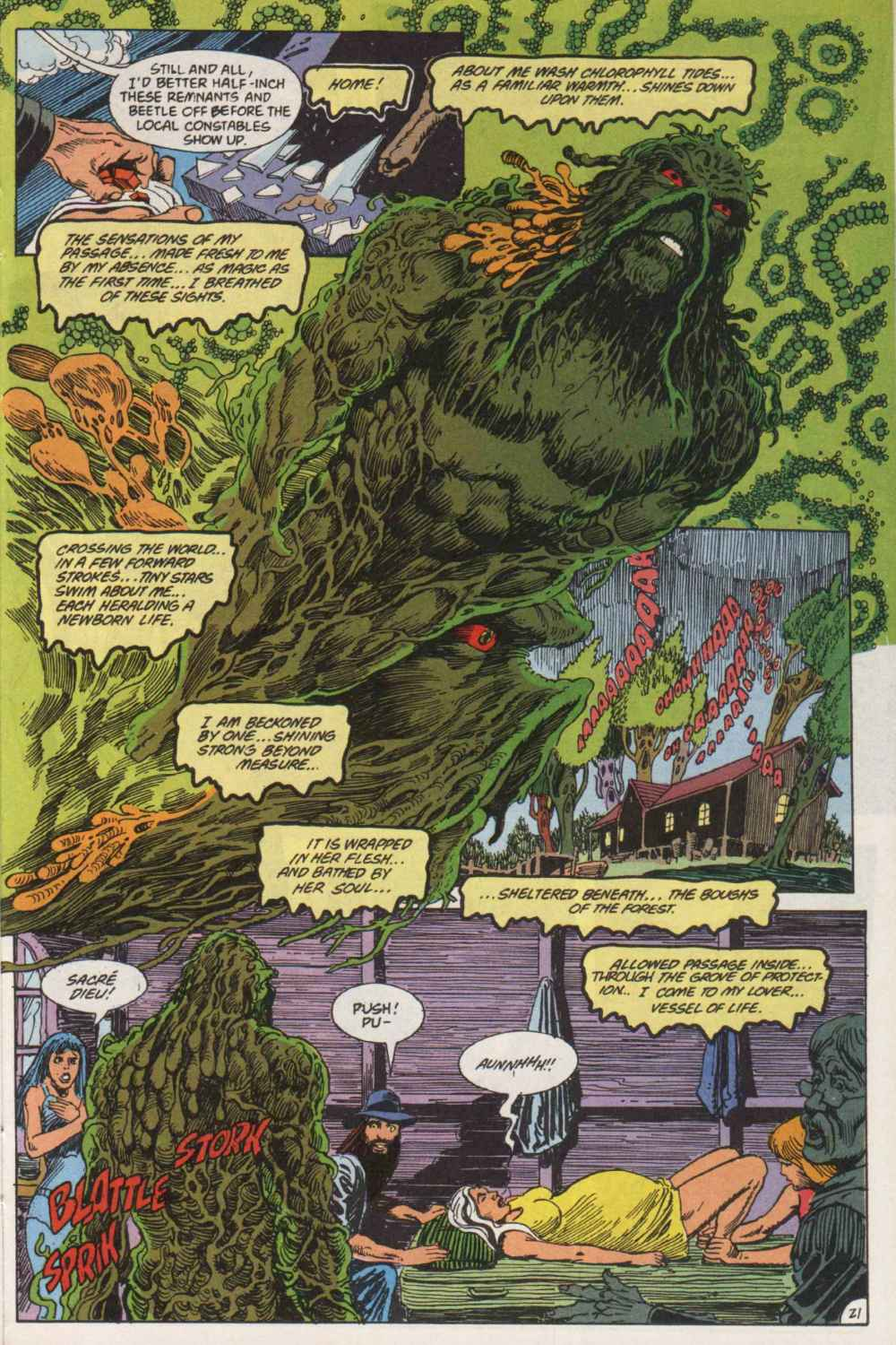 Swamp Thing (1982) Issue #90 #98 - English 21