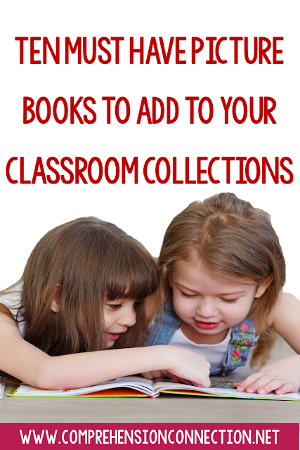 Every reading specialist needs to know what's available to make the best match to the readers they're serving, and in order to make the best choice, you have to know what's available. This post shares a top ten list of books and how they are used in the classroom.
