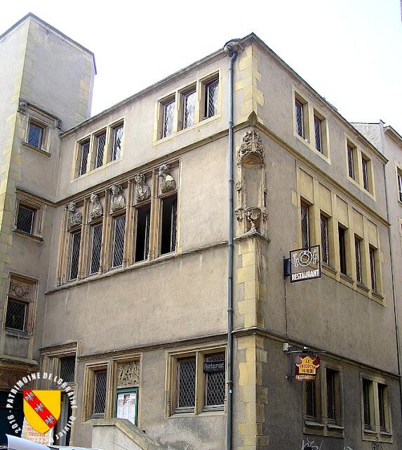 Patrimoine de lorraine metz 57 maison des t tes 1529 - Hotel particulier metz ...
