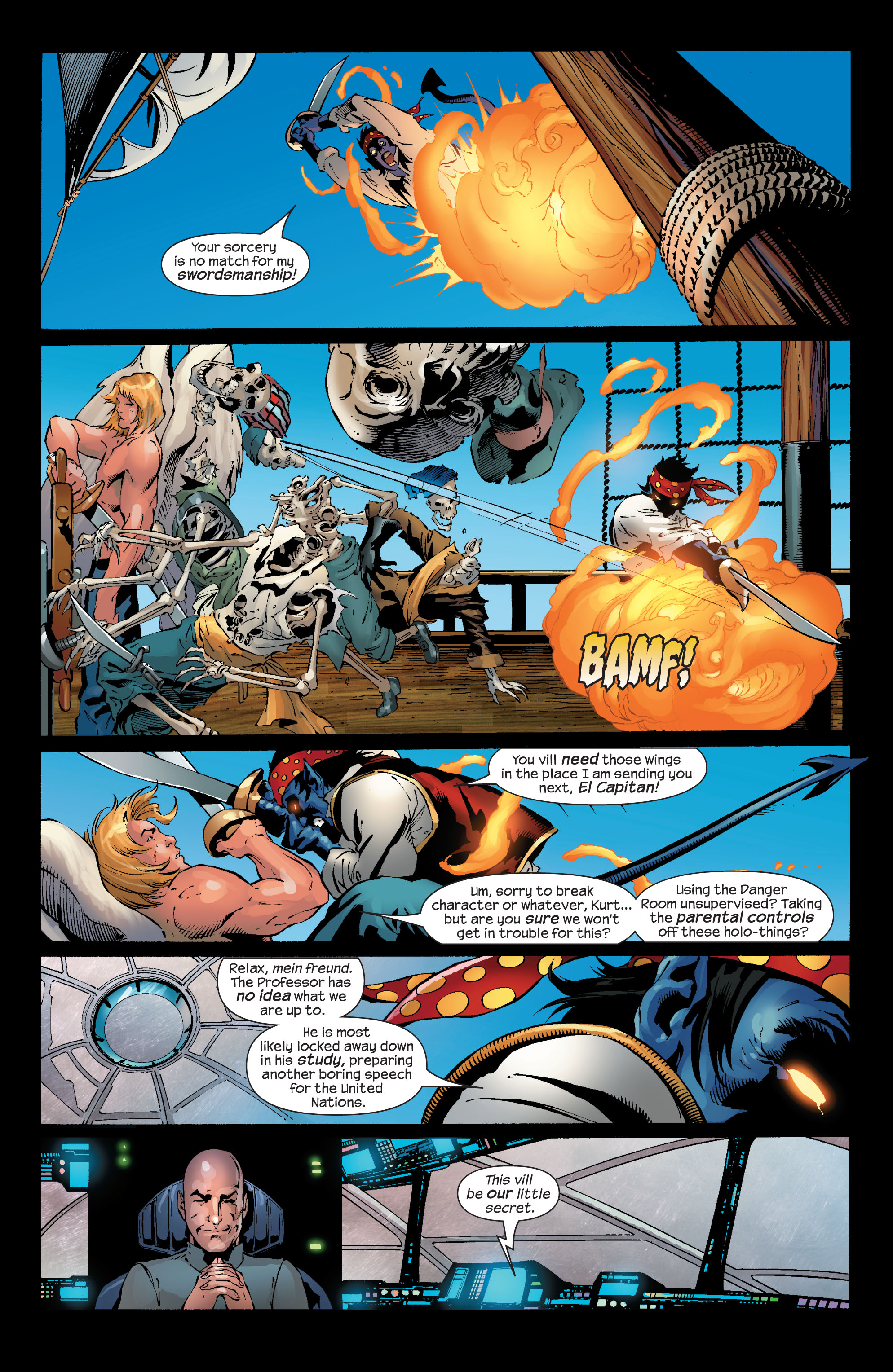 Read online Ultimate X-Men comic -  Issue #50 - 12