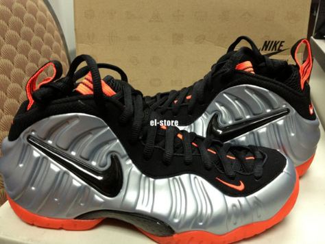 super popular 75016 27b04 Here is new images of the upcoming Nike Air Foamposite Pro Sneaker in  Metallic Platinum  Black- Bright Crimson releasing September 1st for 220,  ...
