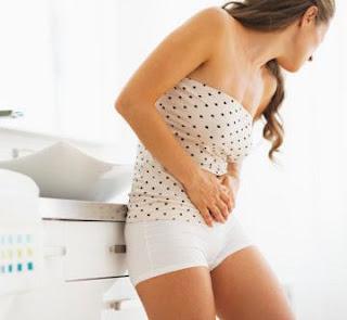Nyeri di bagian bawah perut sampai anus serta susah bab