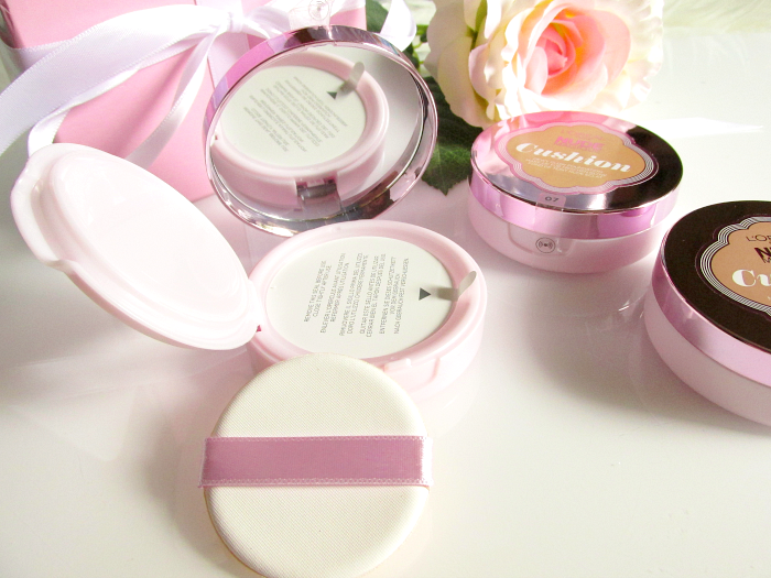 Review: L´Oréal - Nude Magique Cushion Foundation _ Verpackung 2