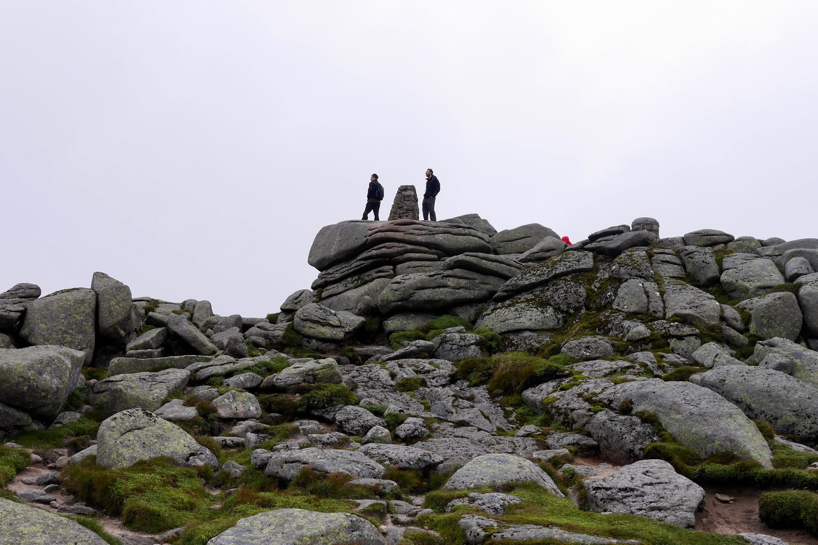 staying at the peak of Loch at the top of Lochnagar Munro - Cal McTravel - www.calmctravels.com