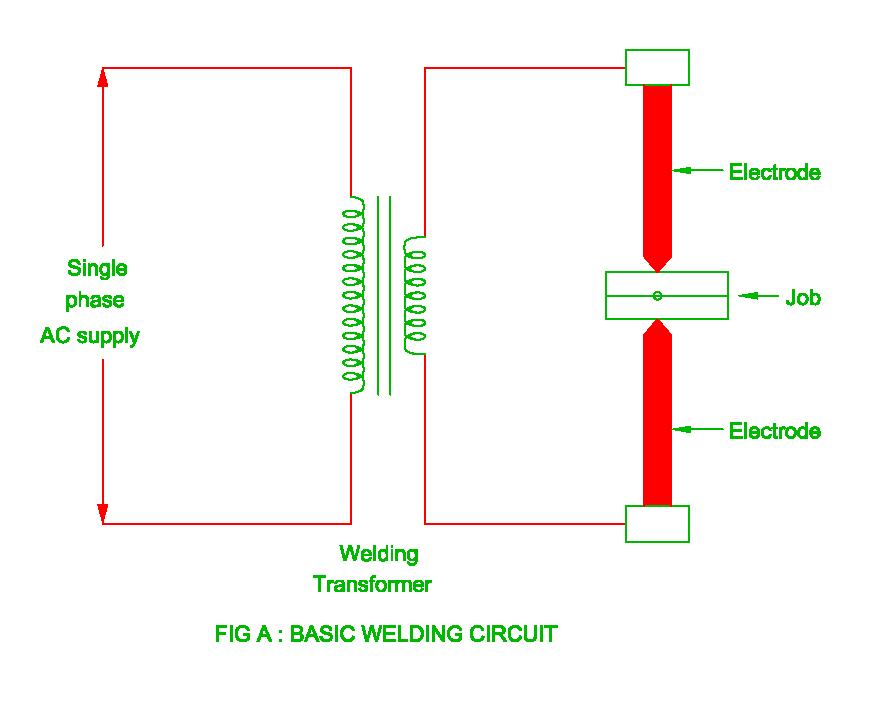 basic welding circuit