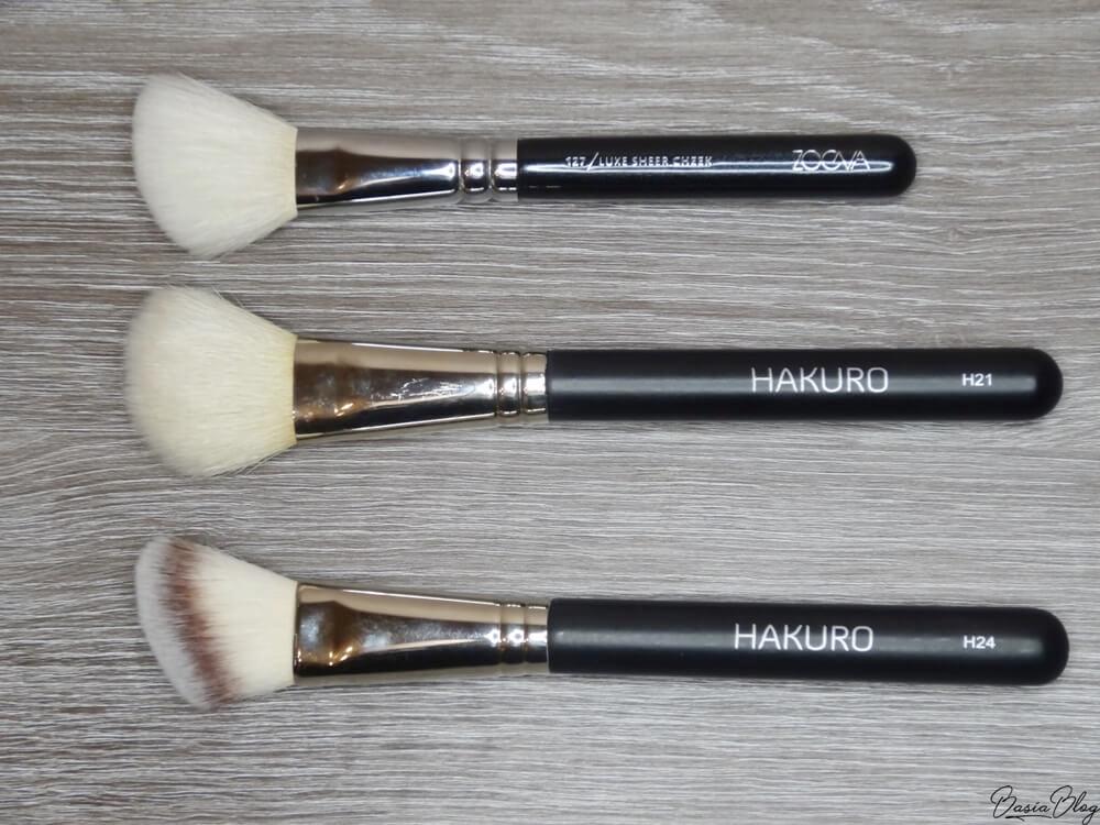 Zoeva 127, Hakuro H21, Hakuro H24