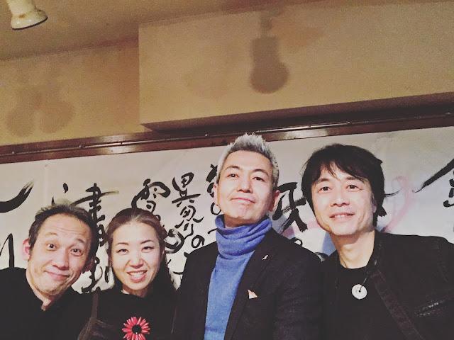 ウタウタ 左から:和田啓(パーカッション)松本泰子(歌)喜多直毅(ヴァイオリン)長谷川友二(ギター)