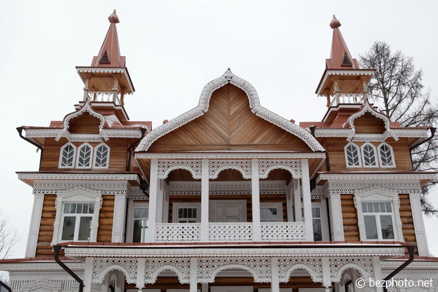 русский стиль в архитектуре