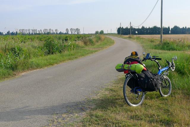 De Paris à Narbonne en vélo, Soirée à vélo