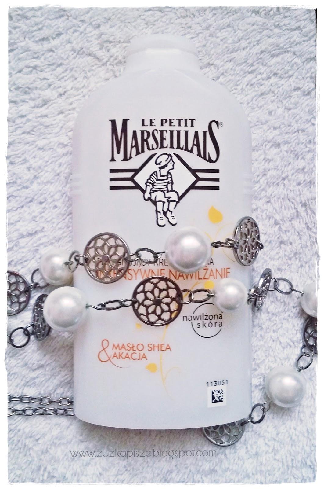 krem do mycia ciała Mało Shea & Akacja od Le Petit Marseillais.