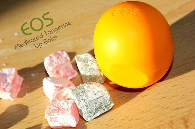 Отзыв: Бальзам для губ «Лечебный мандарин» - EOS Medicated Tangerine Lip Balm.