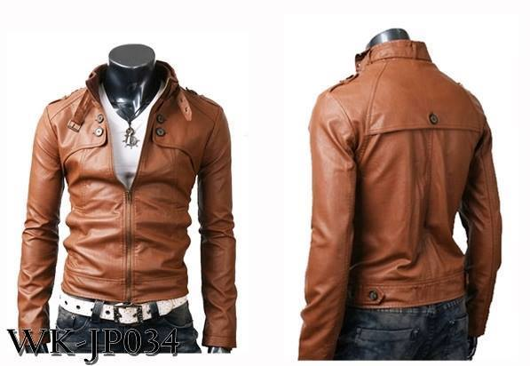 Jaket Kulit Asli Slim Fit