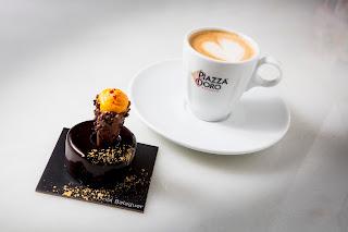 Piazza D'Oro Oriol Balaguer postre café