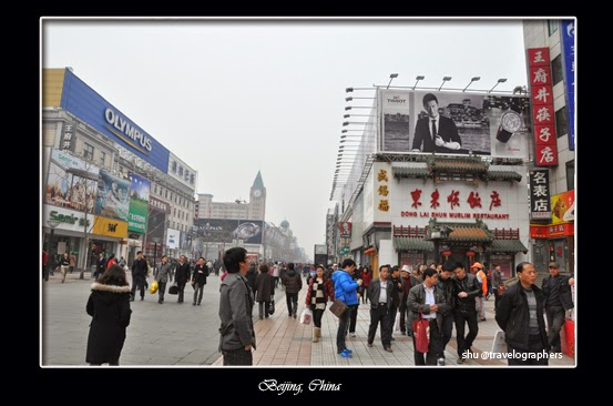 wangfujing, beijing, china