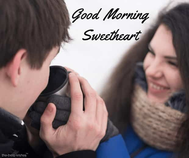 good morning sweetheart couple images