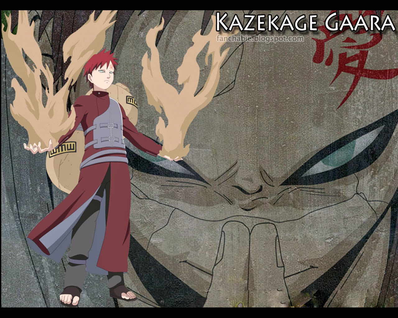 Cool wallpapers kazekage of gaara