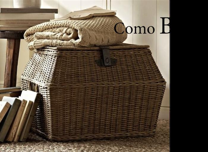 6 ideas para sacarle partido a una cesta decoraci n for Como aprovechar una cesta de mimbre