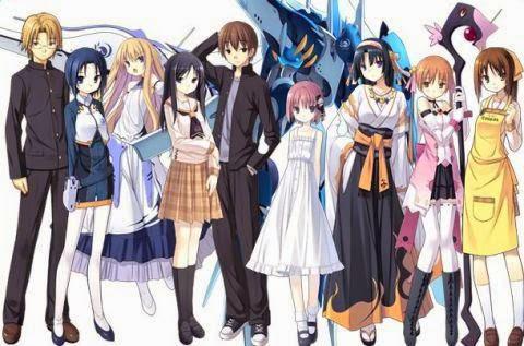 1 - Rokujouma no Shinryakusha!? Subtitle Indonesia Batch Episode 1-12