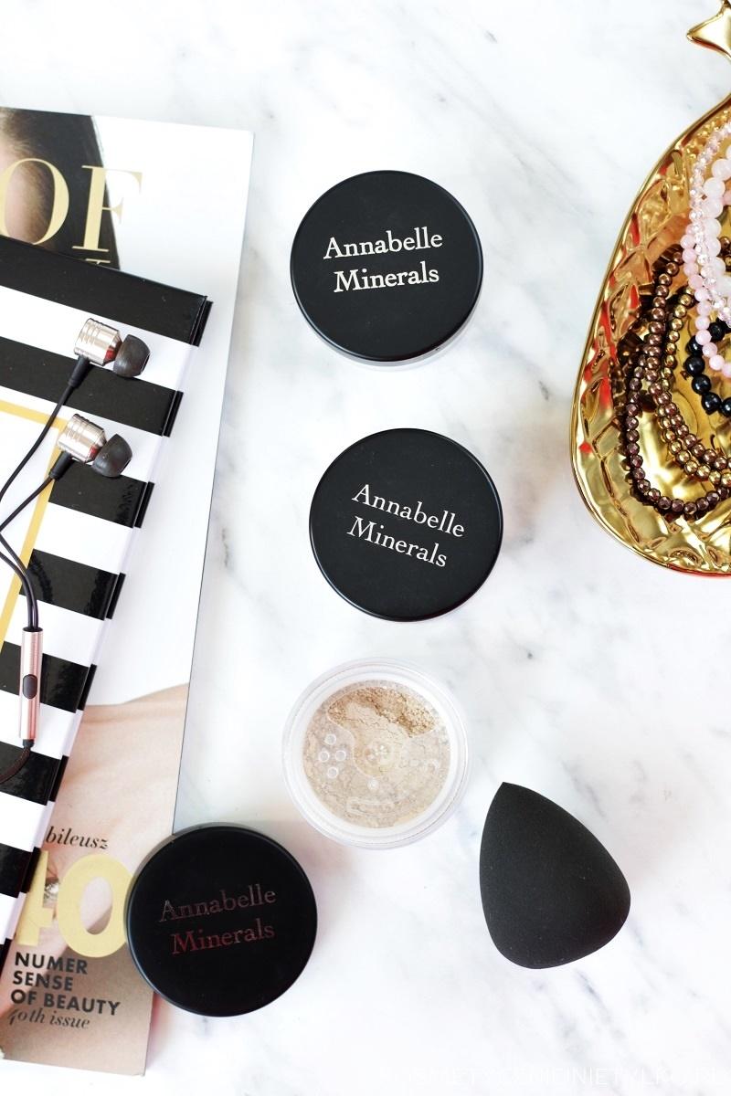 Kosmetyczni ulubieńcy roku 2016 kosmetyki Annabelle Minerals
