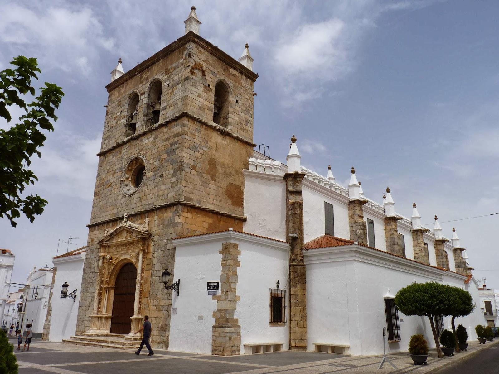 Olivenza, Iglesia de Santa María Magdalena.