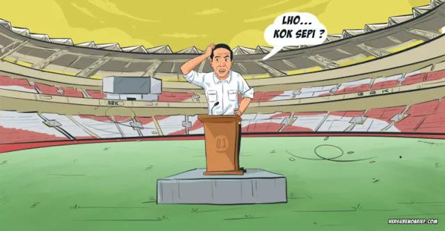 Waktunya Sudah Habis Pak Jokowi