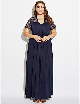 Vestidos de cóctel tallas grandes