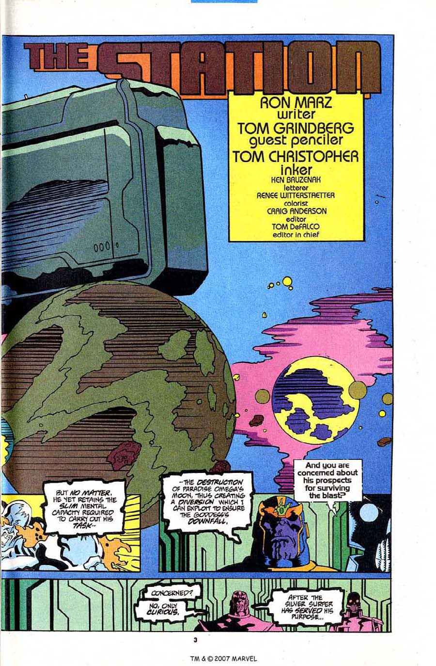 Read online Silver Surfer (1987) comic -  Issue #84 - 5