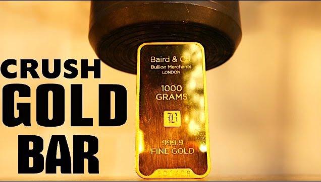 Baird & Company 1,000 gram fine gold bar
