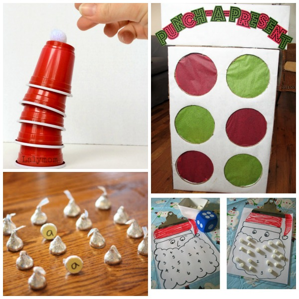 25+ HOLIDAY PARTY GAMES - super fun ideas for all ages! #holidaypartygames #Christmaspartygames