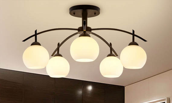 type Lampu Plafon Ruang Tamu Minimalis