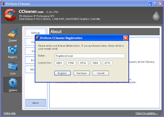 cclenar for pc license key 2015